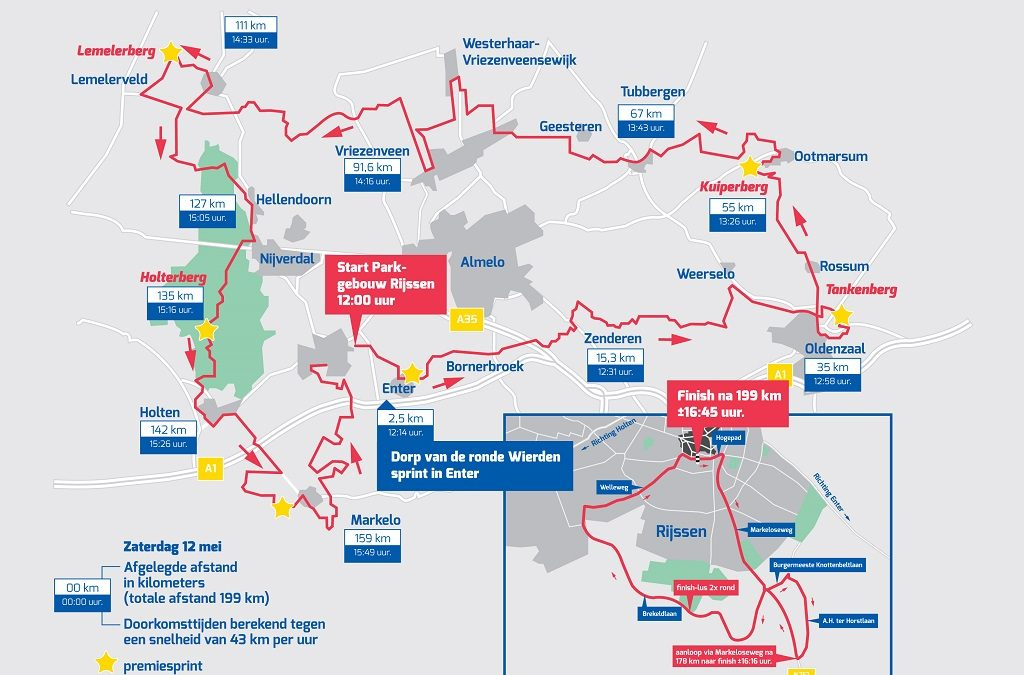 Volg LIVE de Ronde van Overijssel