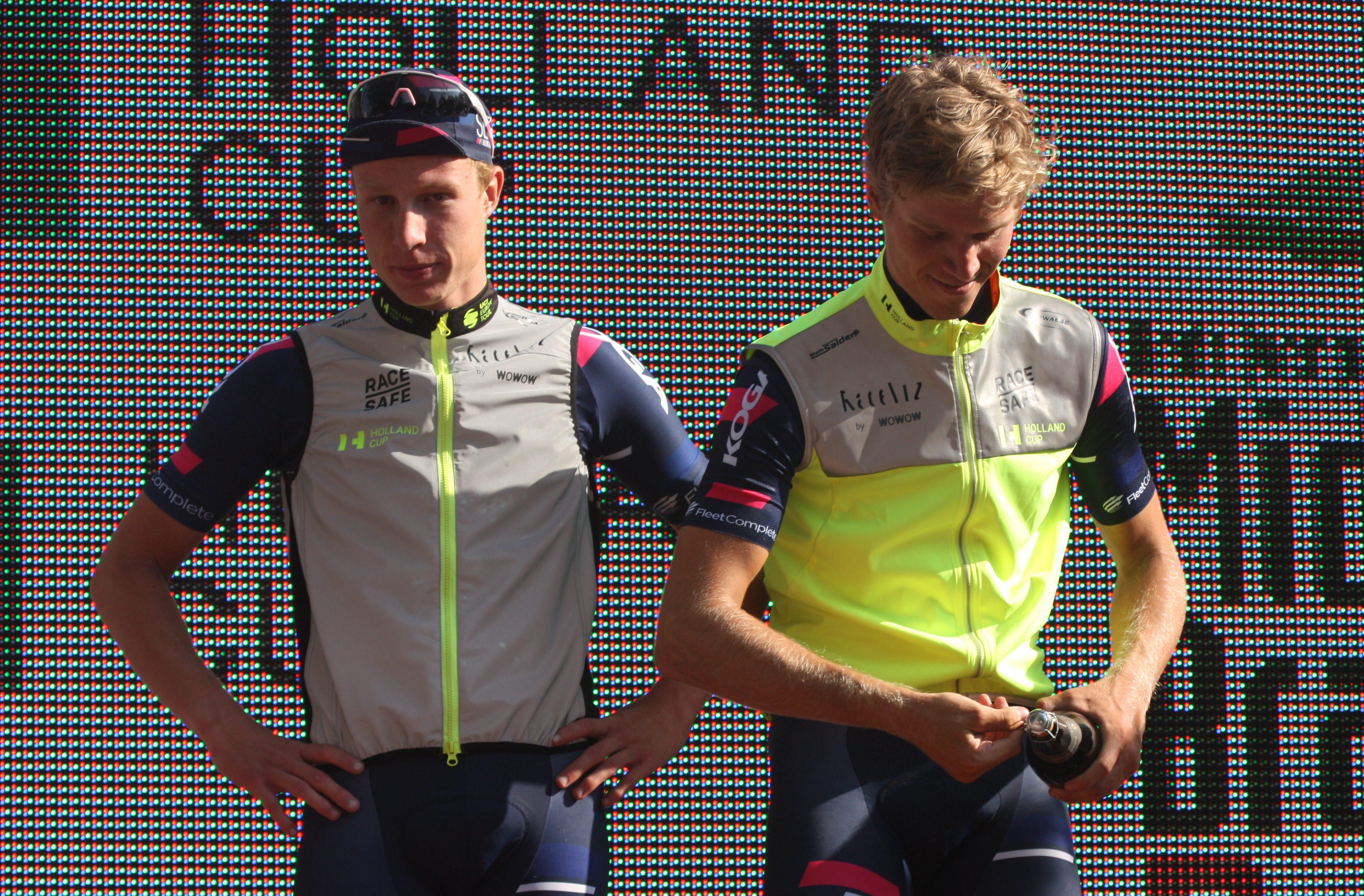 Holland Cup-leider eerst stagiair en daarna prof bij Team Sunweb